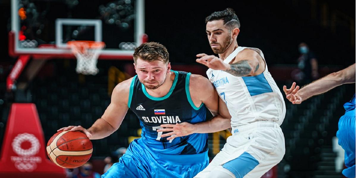 Argentina sufrió a Doncic y no tuvo chances ante Eslovenia