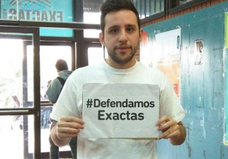 Un estudiante argentino que ganó un mundial a Harvard pide recursos para su Facultad