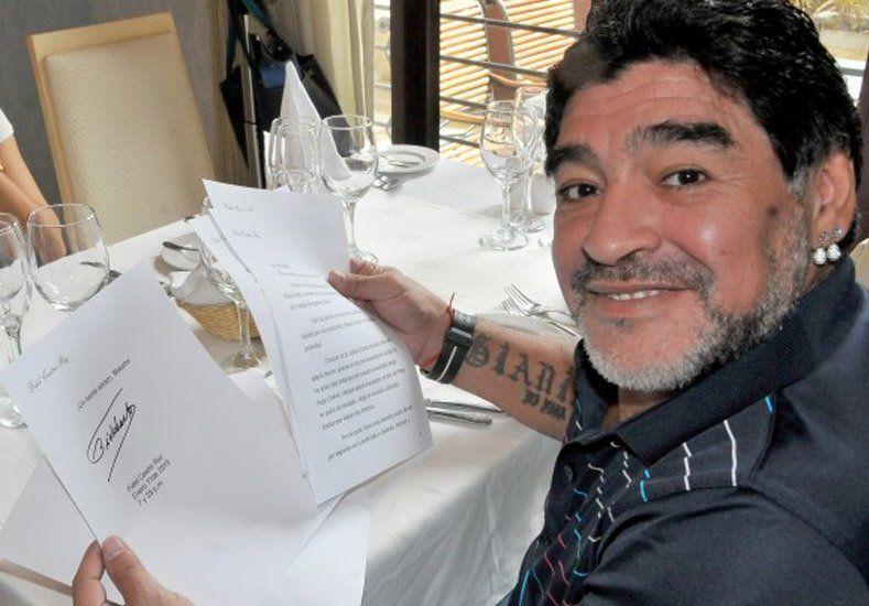 Quiere la FIFA: Diego Maradona será candidato a presidente de la FIFA