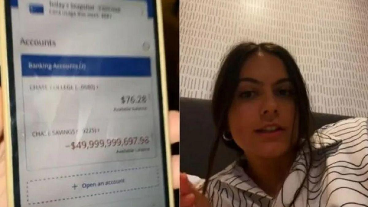 Una mujer despertó y se sorprendió al notar una deuda de 50 mil millones de dólares.