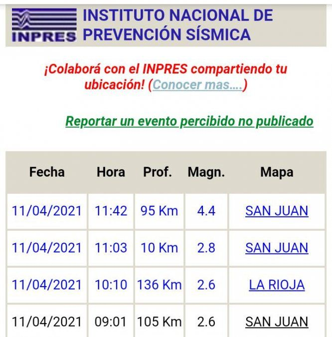 Un temblor de 4.4 movió la mañana del domingo