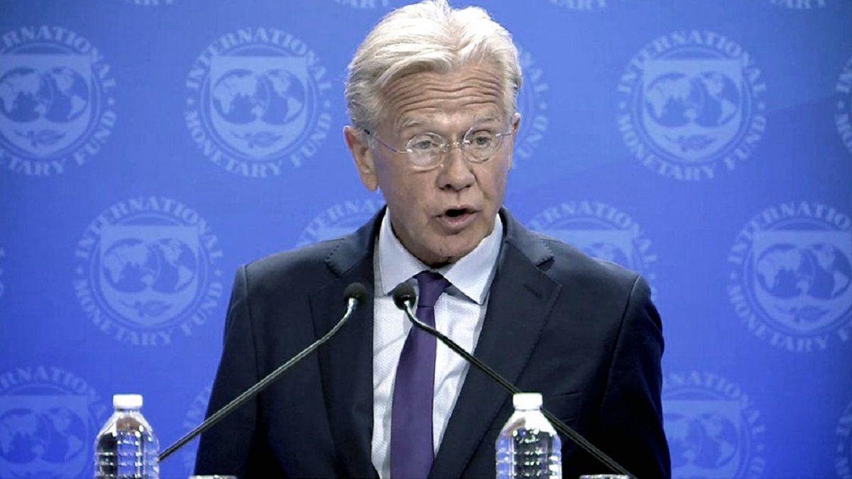 El vocero del FMI
