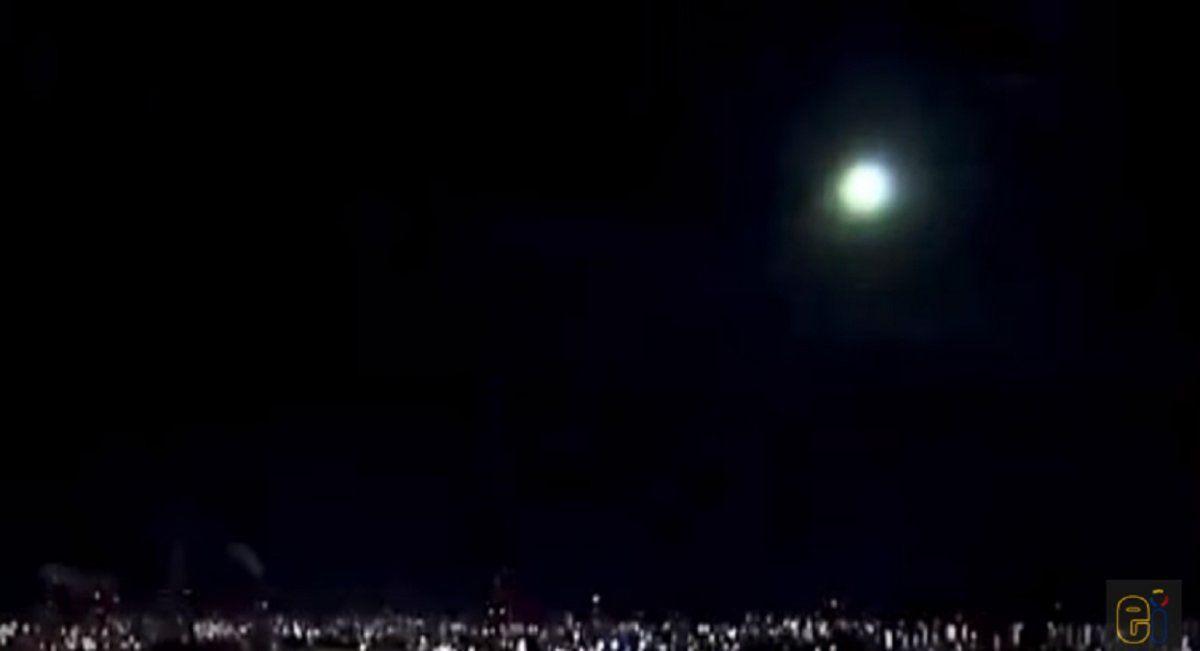 Un meteorito copó el cielo de Japón y asombró a muchos