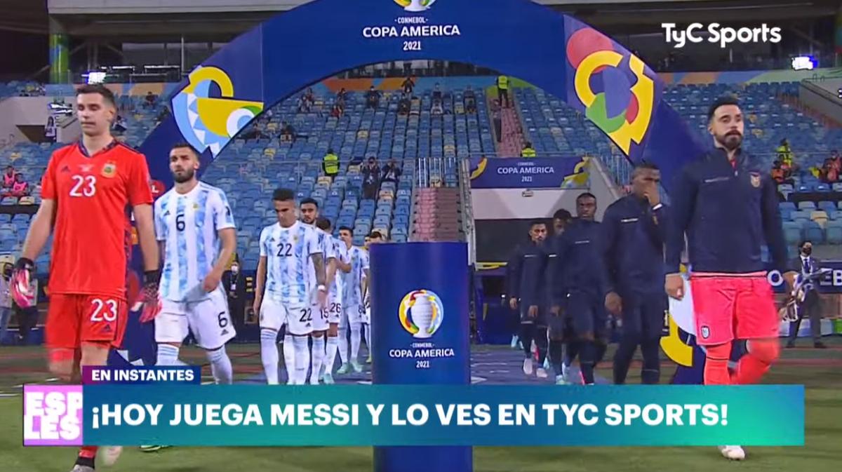 En vivo: Argentina le ganó a Ecuador 3-0 y es semifinalista