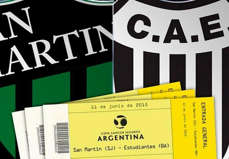 Comenzó a la venta las entradas para San Martín-Estudiantes de Caseros