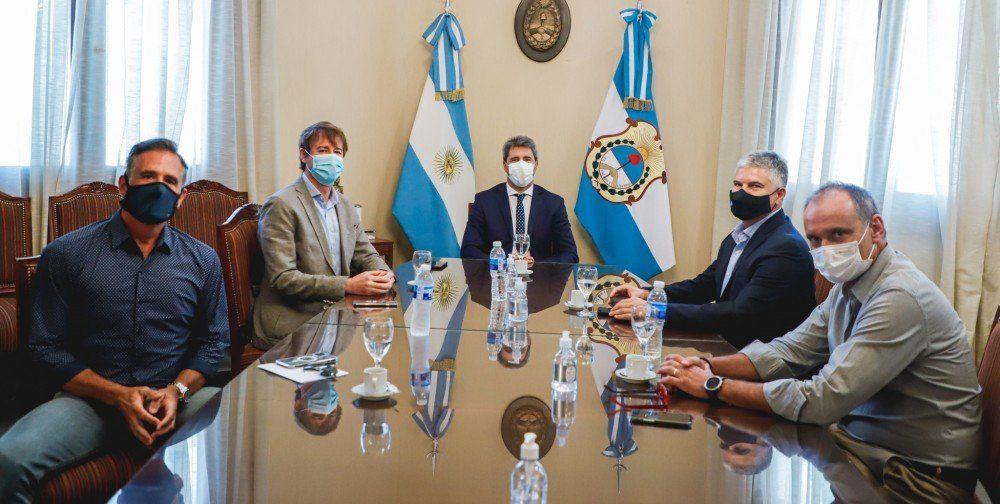 El gobernador se reunió con la Cámara Argentina de la Construcción de San Juan