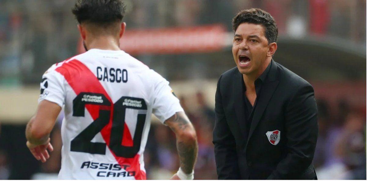 Gallardo recupera a Casco y hará cambios en su River