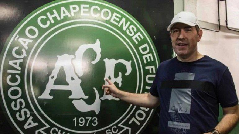 Uno de los sobrevivientes de la tragedia de Chapecoense murió jugando al fútbol