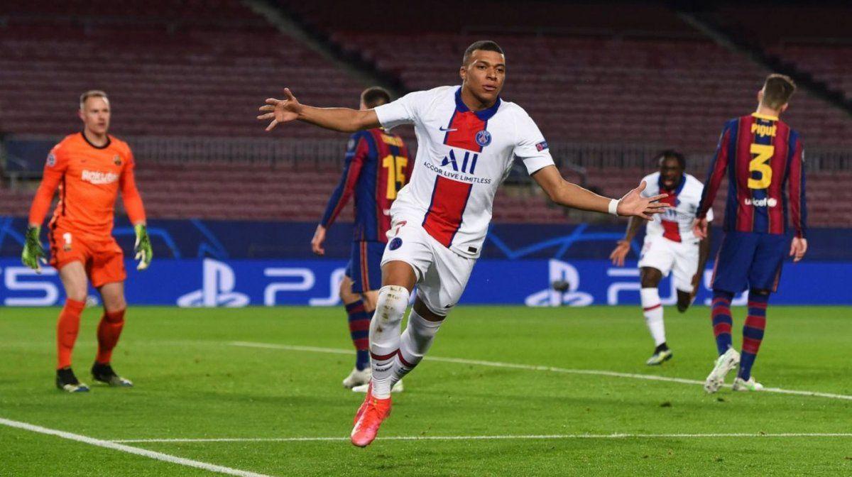 El PSG derrotó 4 a 1 al Barcelona con una gran actuación de Mbappé.
