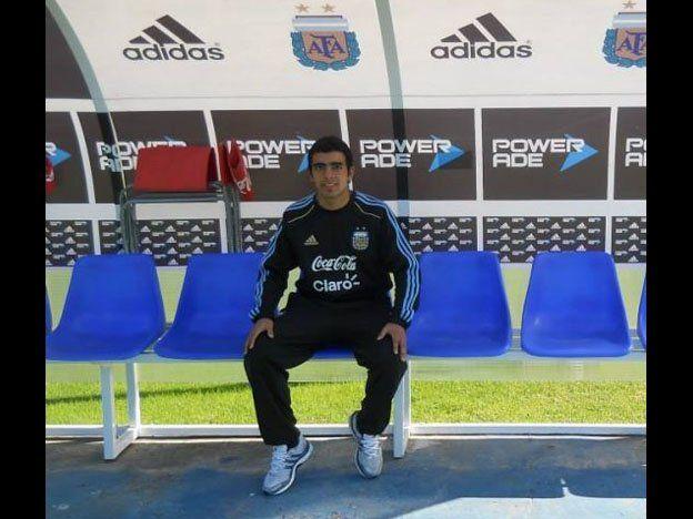 El sanjuanino Lucas Vega viajó a México con la Selección Sub 15