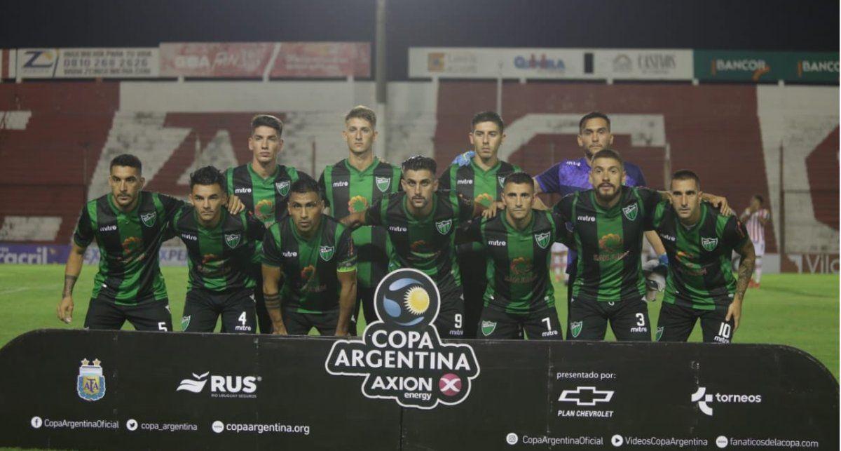 San Martín pasó a los 16avos de final de la Copa Argentina.