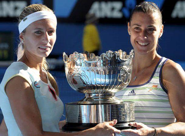 Abierto de Australia: Dulko y Pennetta, las mejores en dobles