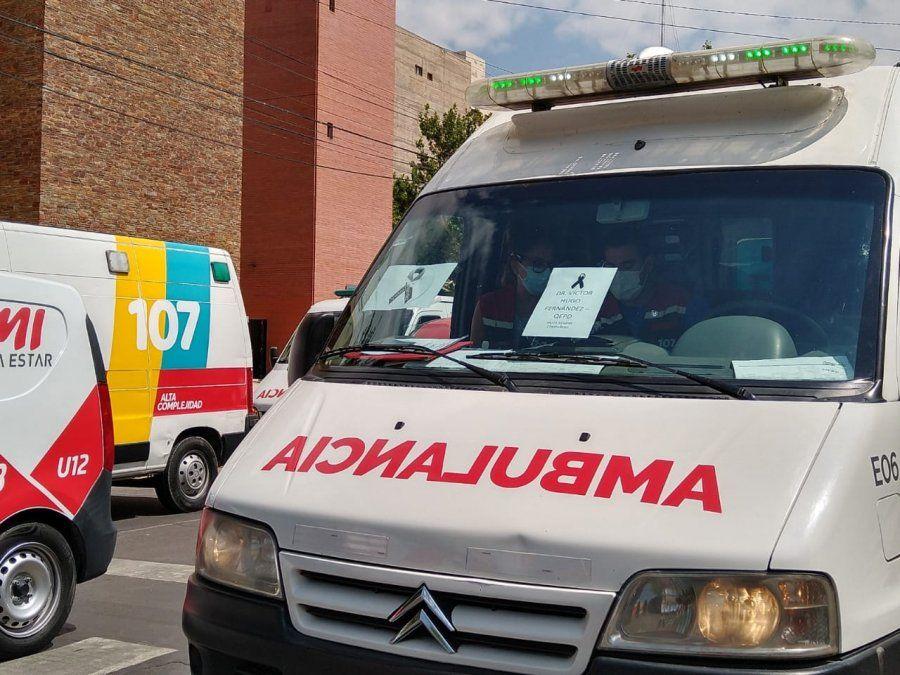 Emotivo homenaje al médico y a los profesionales de la Salud que murieron por COVID-19