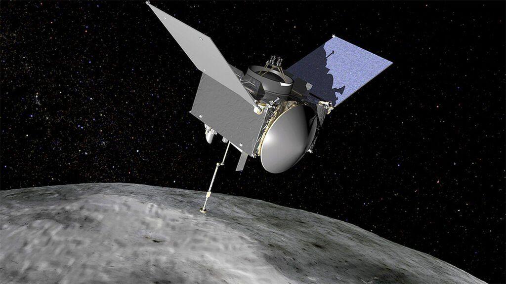 La sonda Osiris-Rex logra almacenar todo el material del asteroide Bennu