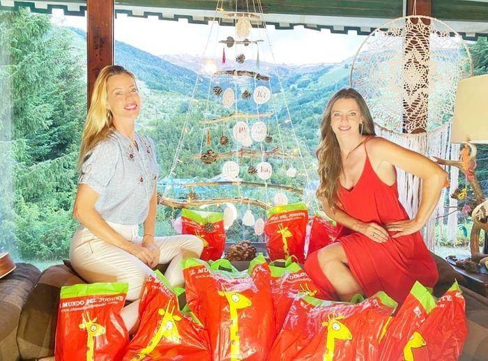 Reencuentro en Bariloche: la postal de Nicole y su hermana