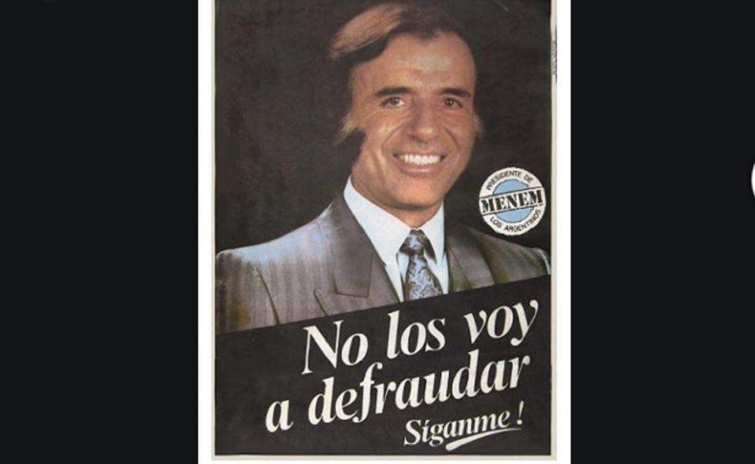 Las frases más destacadas de Carlos Menem durante su carrera política