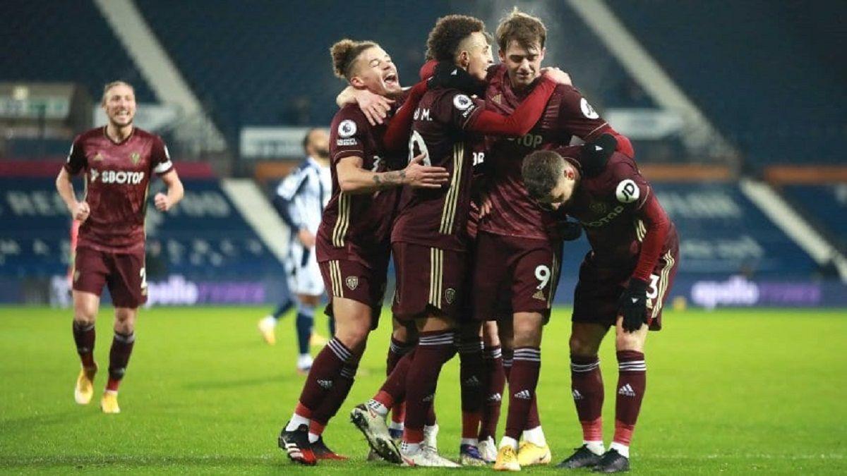 El Leeds de Bielsa goleó 5-0 al West Bromwich