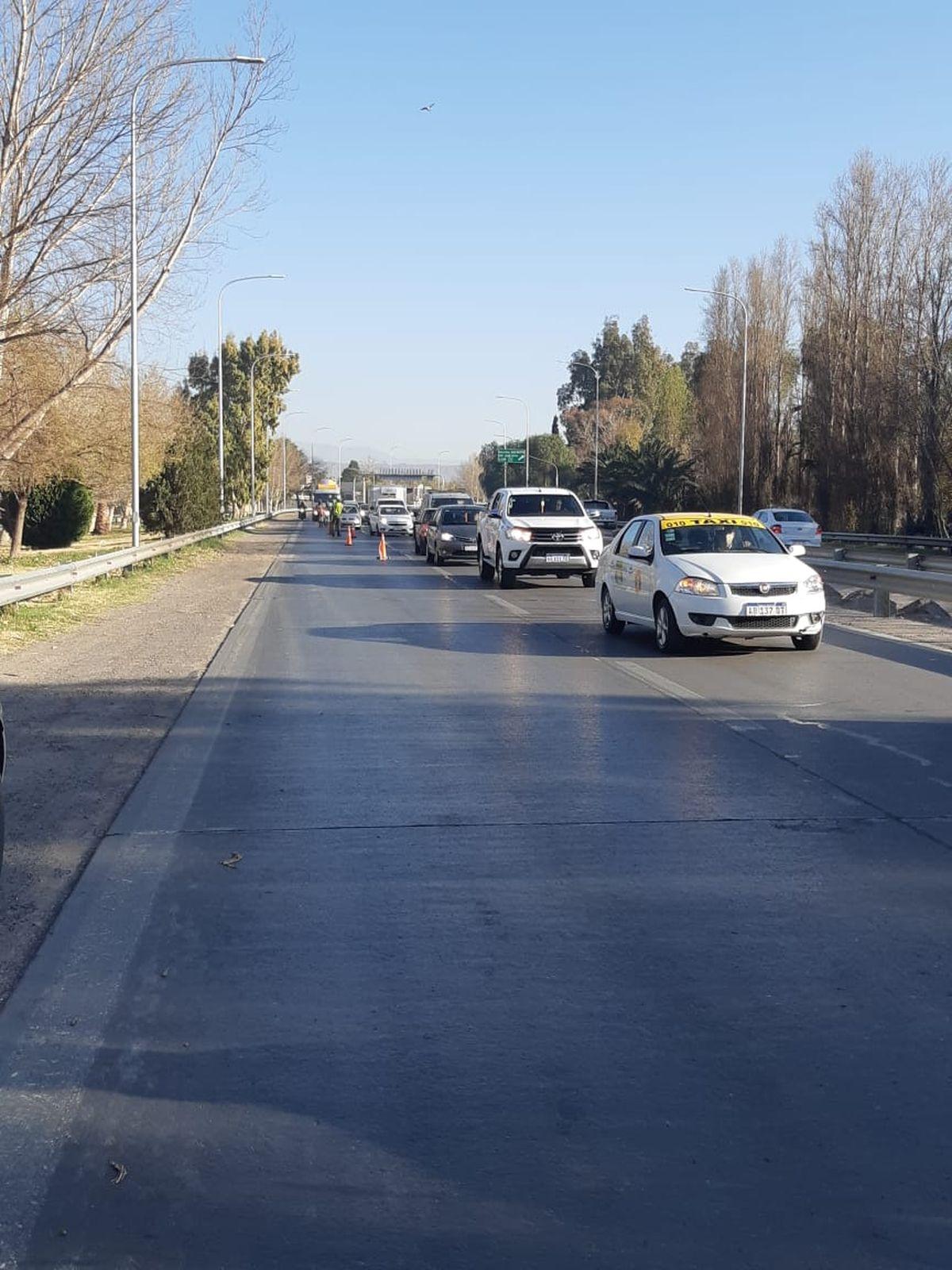 Realizarán tareas de mantenimiento en una bajada de la avenida de Circunvalación