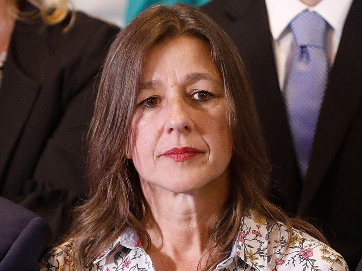 Sabina Frederic dio una conferencia de prensa por el caso del diputado Arias.