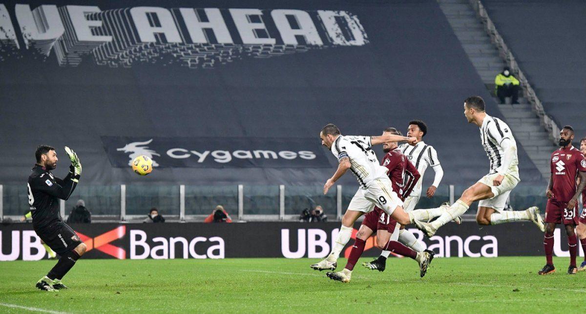 Juventus ganó el clásico de Turín con un gol de Bonucci. Foto: @juventus