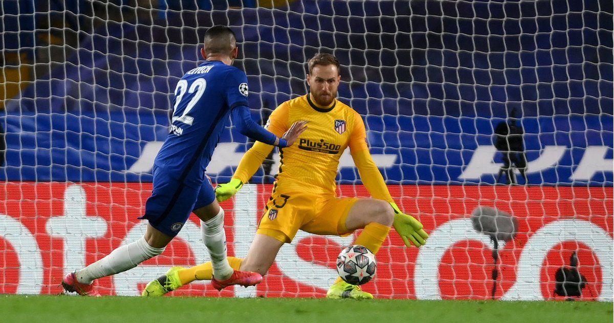 Atlético Madrid perdió con Chelsea y quedó afuera de la Champions League.