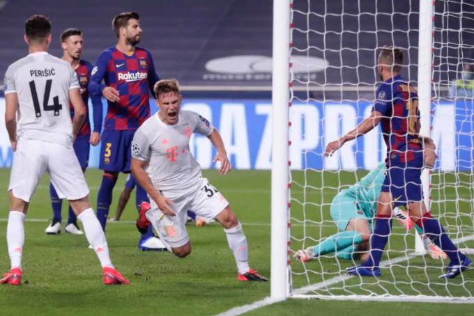 El Bayern vapuleó al Barsa y le hizo 8 para sacarlo de la Champions