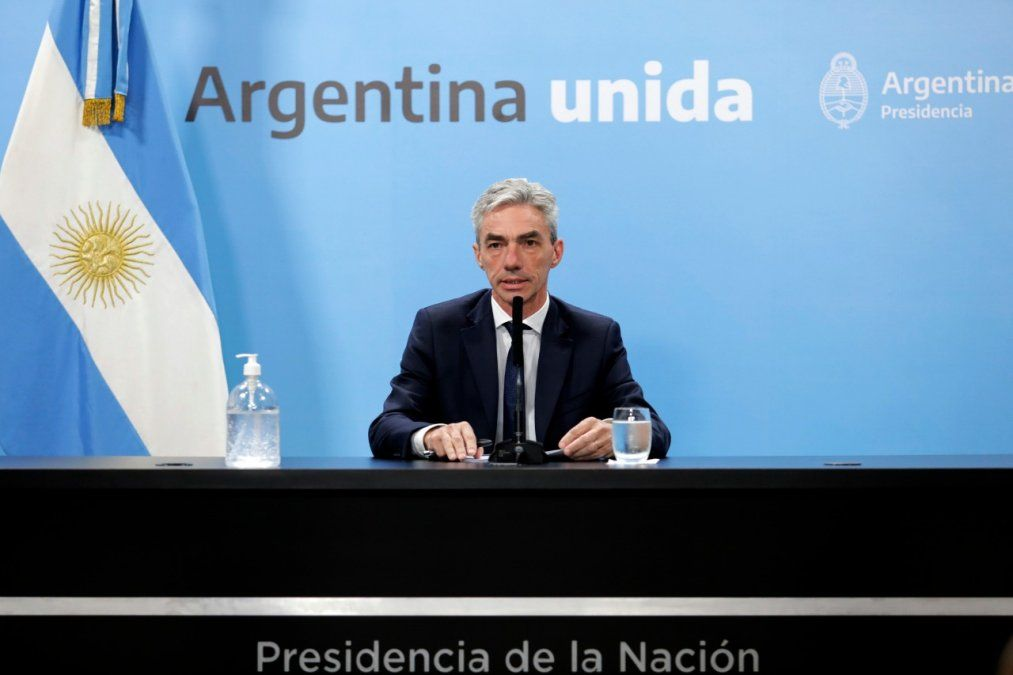Meoni anunció que el Ferrocarril San Martín llegará desde Mendoza hacia Albardón.