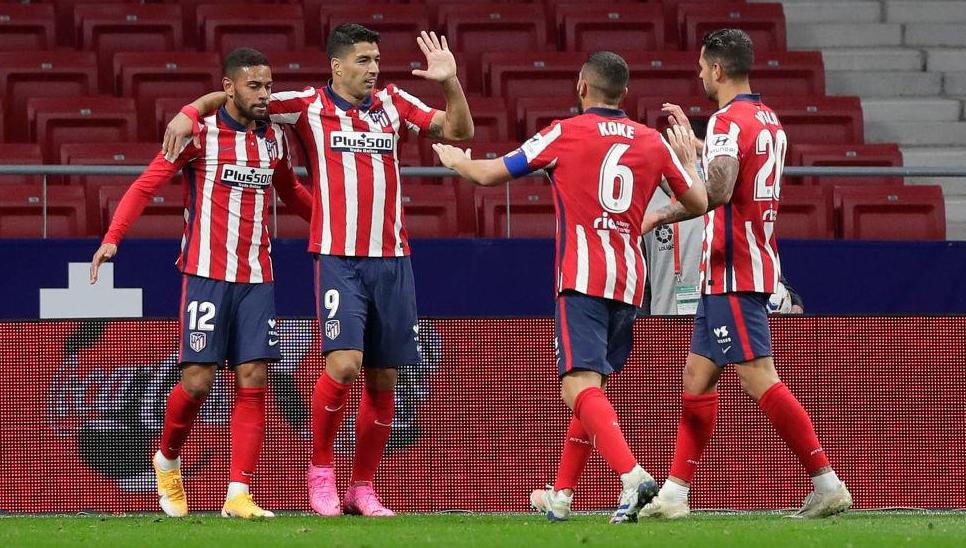 Atlético Madrid venció a Betis y quedó como escolta del Real
