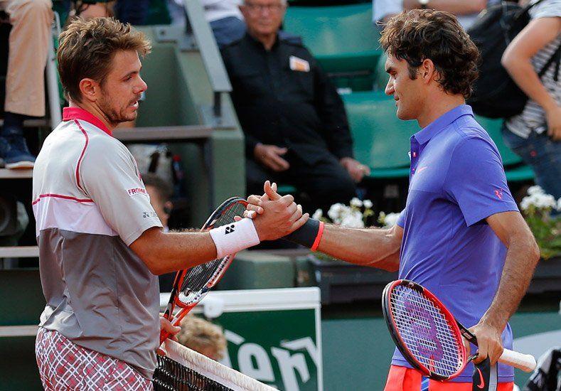 Perdió Federer: Wawrinka festejó en el duelo suizo de Roland Garros