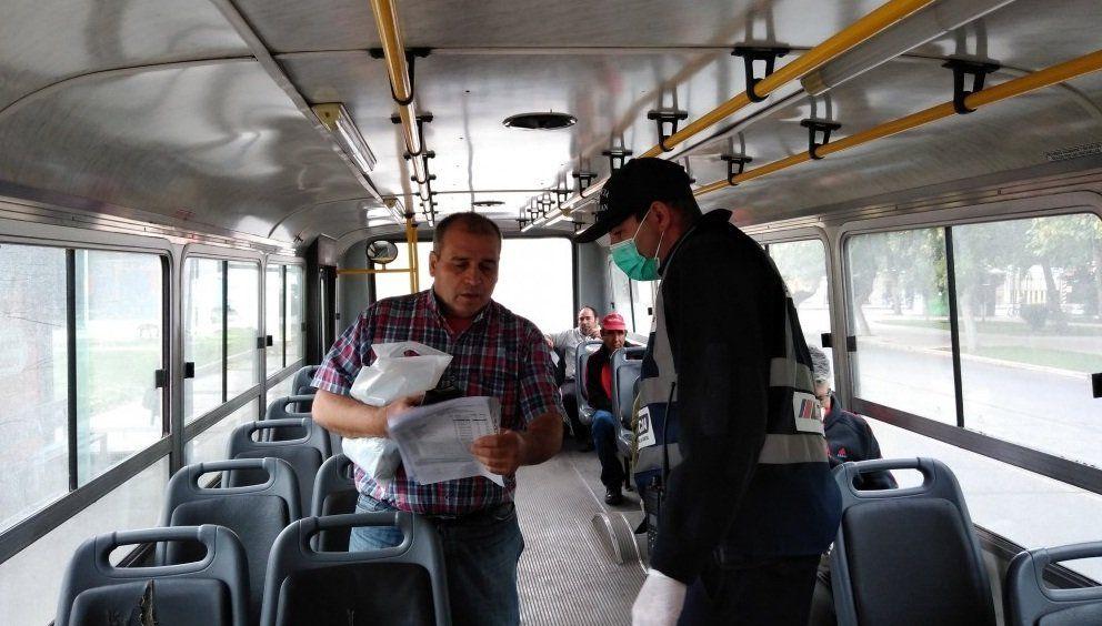 Frecuencia y capacidad de pasajeros: cómo funciona el transporte público en Fase 1