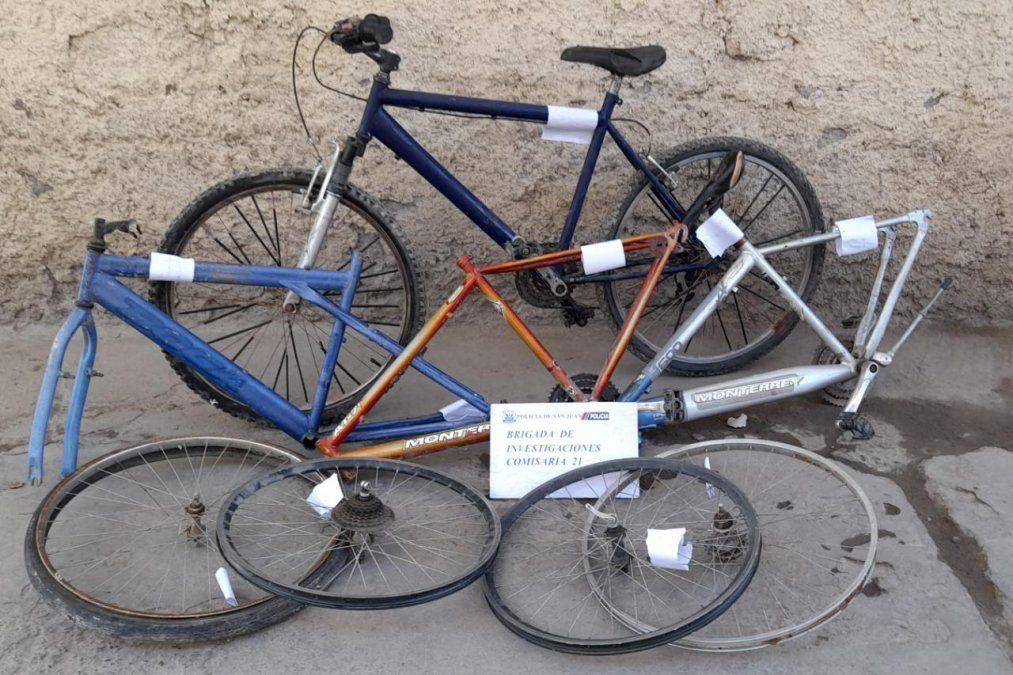 Descubren la guarida de una banda de adolescentes que robaba bicicletas