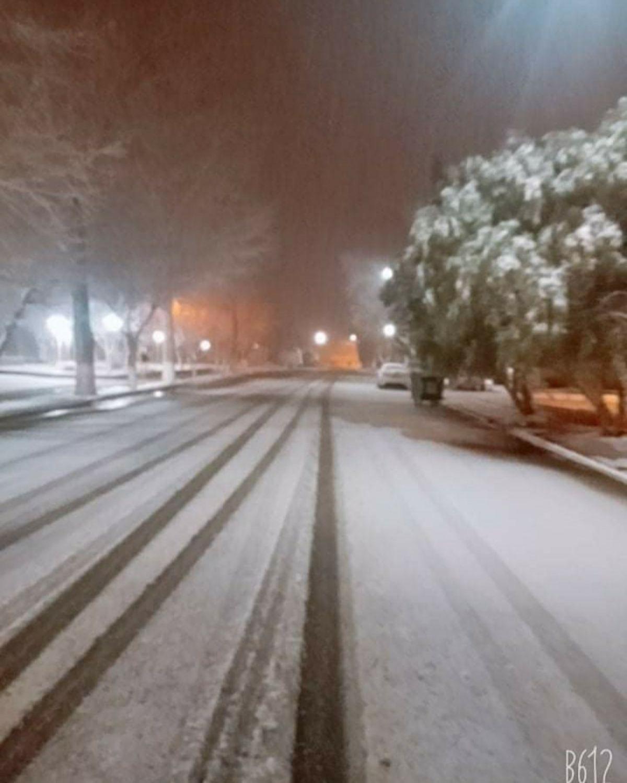 Nieve en Rodeo