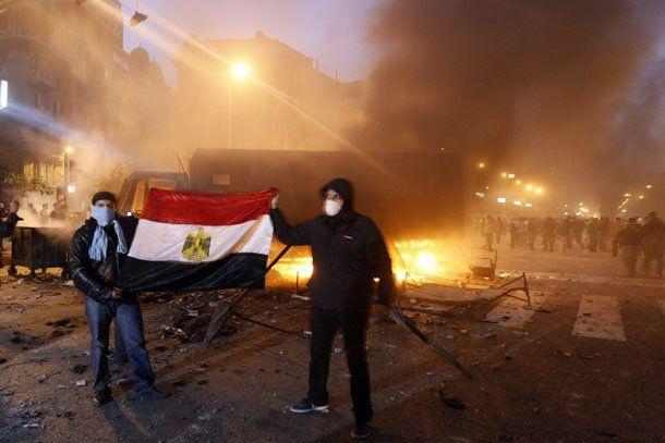 Egipto: tras horas un día de manifestaciones ya se registraron 15 muertos y cientos de heridos