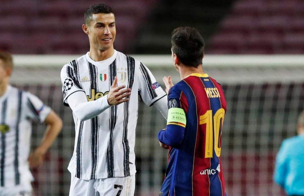 Cristiano Ronaldo le ganó la pulseada a Messi y la Juve quedó arriba en la zona de la Champions.