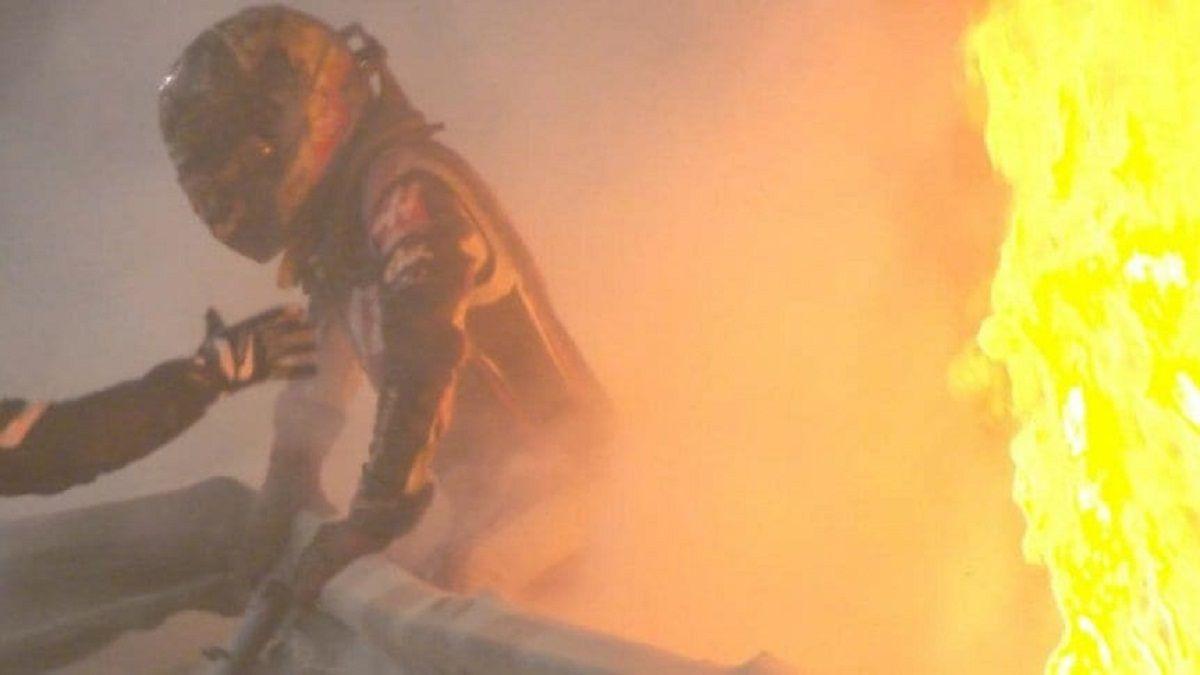 Grosjean salvó su vida de milagro en Bahrein.
