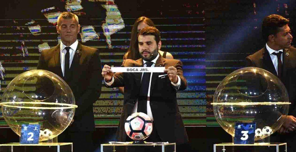 Así será el sorteo de las Copas Libertadores y Sudamericana