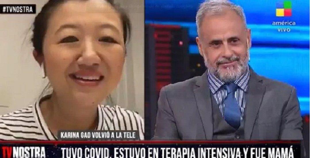 Jorge Rial lloró al aire con el relato de Karina Gao