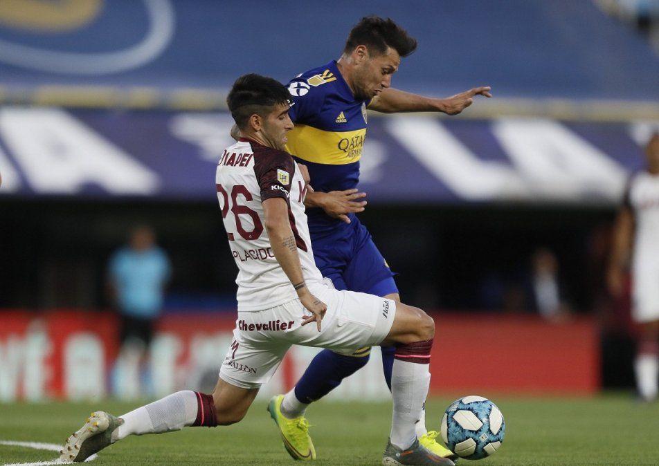Boca cayó por 1-2 ante Lanús en La Bombonera