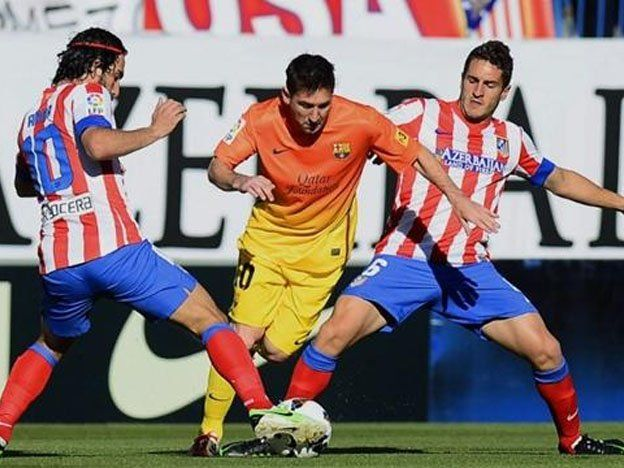 Barcelona y Atlético Madrid juegan la primera final de la Supercopa española