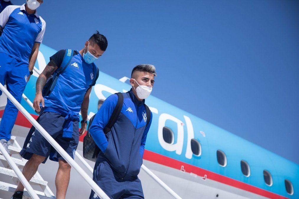 Vélez llegó a San Juan.