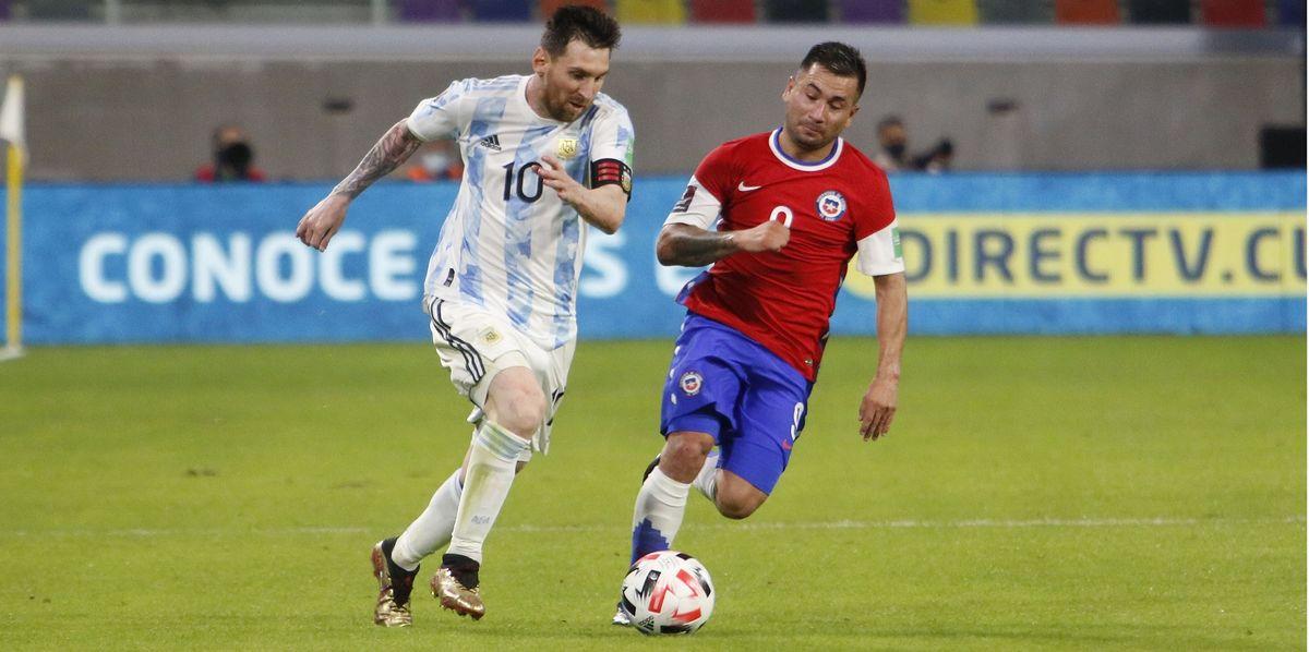 Argentina igualó 1 a 1 con Chile en Santiago del Estero. Foto: Telam.