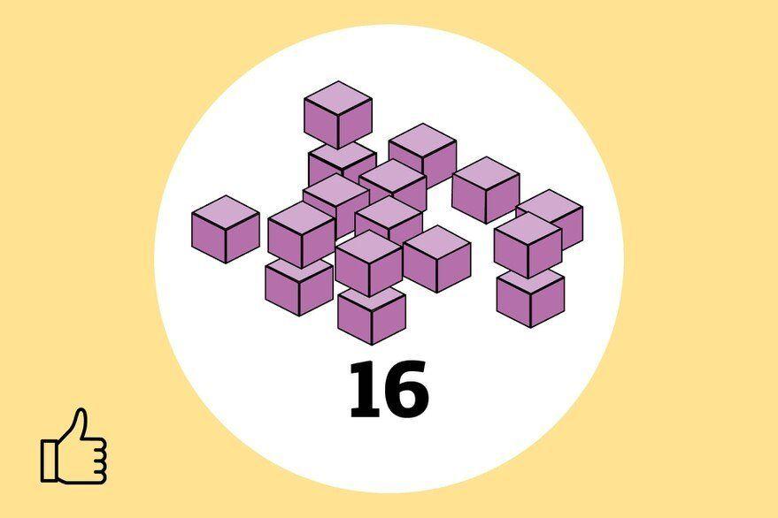 Sumate al desafío viral: ¿cuántos cubos hay en esta imagen?