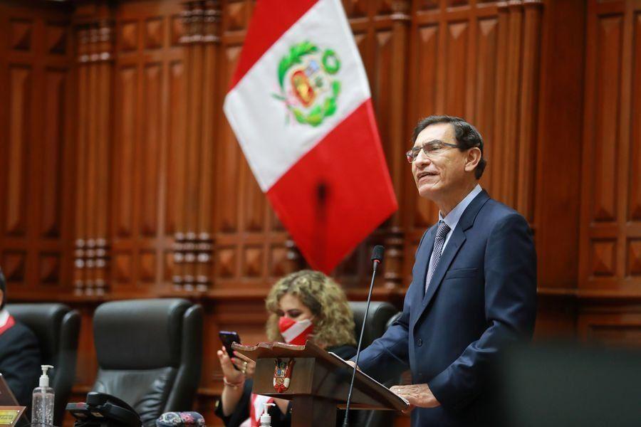 El Congreso peruano destituyó al presidente Vizcarra a cinco meses de las elecciones