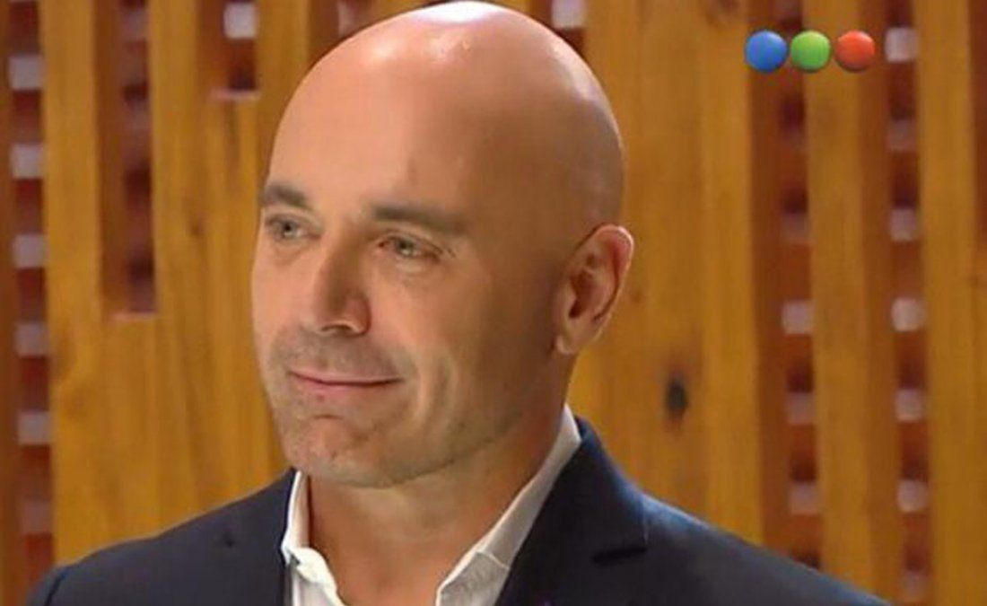 Germán Martitegui encontró un pelo en uno de los platos de los participantes