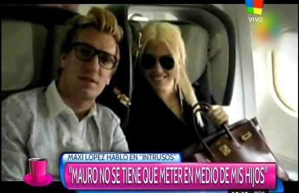 """Wanda: """"Con Maxi hubo violencia"""""""