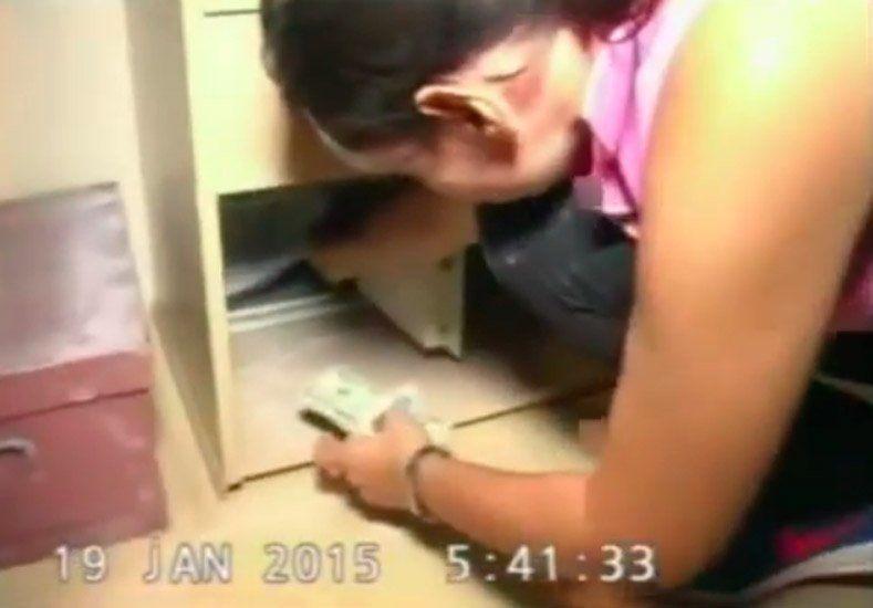 Lanata mostró el video de cómo actuaron los peritos en la escena de la muerte de Nisman