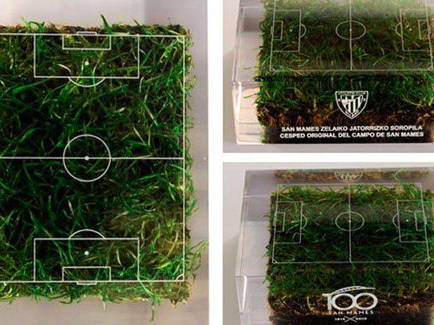 La cancha a la casa: El Athletic Bilbao vende porciones de su campo de juego