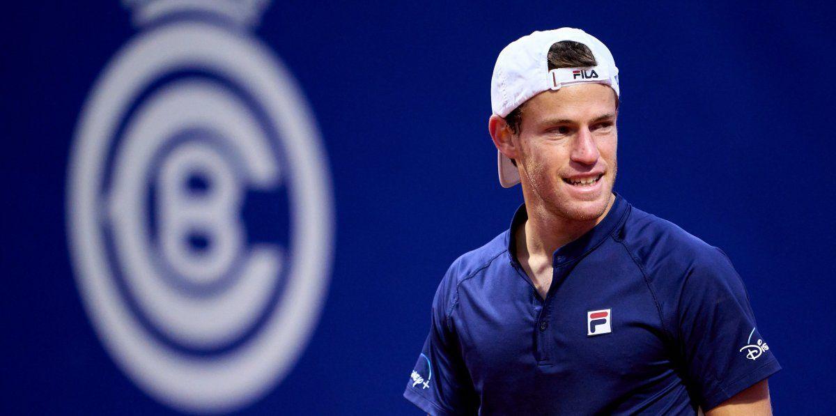 Schwartzman perdió en su debut en el Masters 1000 de Roma