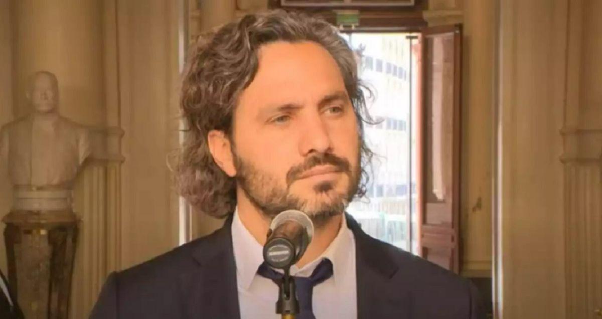 Santiago Cafiero se refirió a la reunión en Olivos.