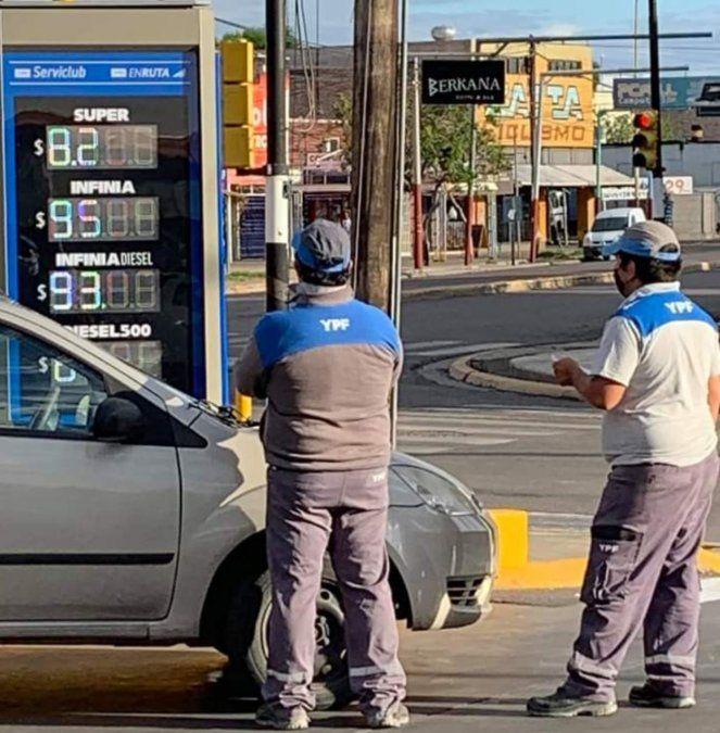 Aumentó 1,2% la nafta y el gasoil y se esperan nuevas alzas
